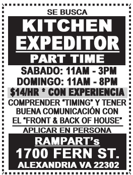 Kitchen Expeditor