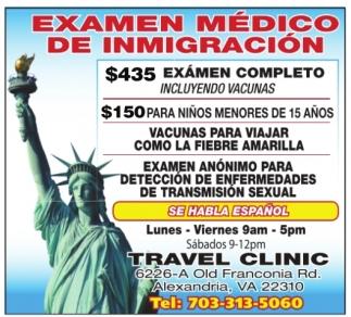Exámen Médico De Inmigración