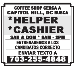 Helper/Cashier
