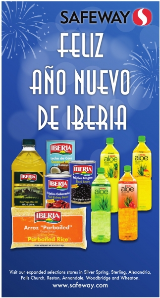 Feliz Año de Iberia