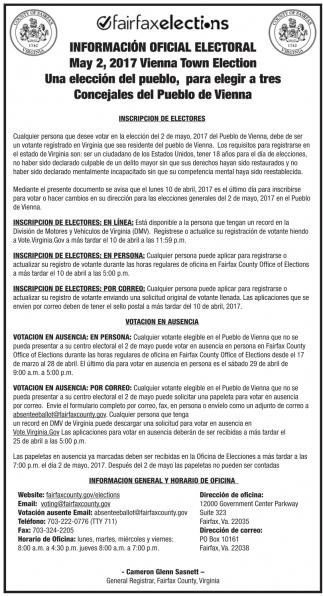 Información Oficial Electoral