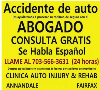 Accidente de Auto