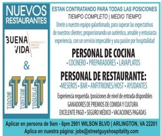 Nuevos Restaurantes
