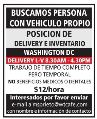 Posición de Delivery e Inventario