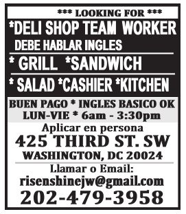 Deli Shop Team Worker