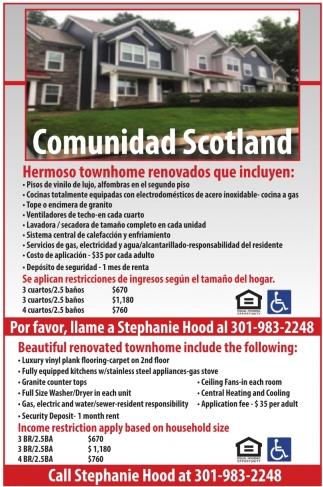 Comunidad Scotland
