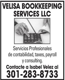 Velisa Bookkeeping Services LLC