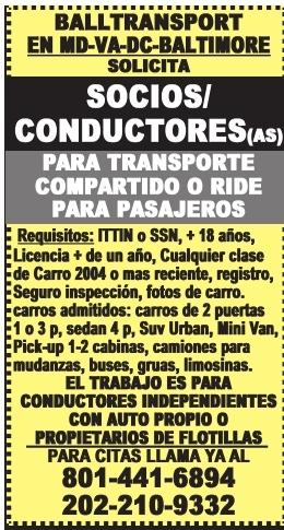 Socios/Conductores