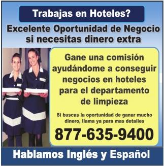 Trabajas en Hoteles?