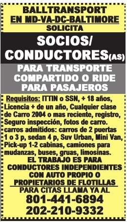 Socios/Conductores(as)