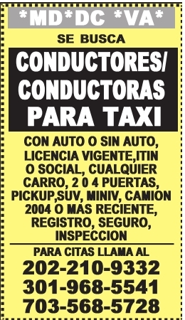 Conductores(as)