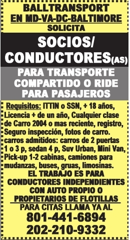 Socios/Condutores(as)