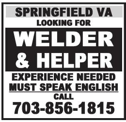 Welder & Helper