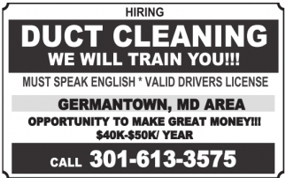 Hiring Duct Cleaning