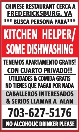 Kitchen Helper/Lavaplatos