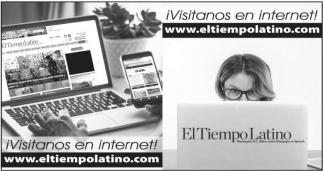 ¡Visítenos en Internet!