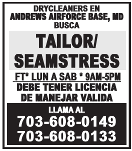Tailor/Seamstress