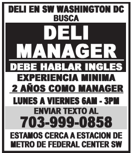 Deli Manager