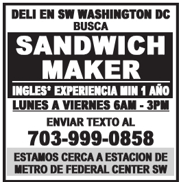 Sandwich Maker/Cashier