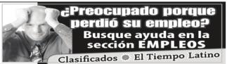 Busque Ayuda en la Sección Empleos