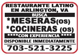 Meseras / Cocineras