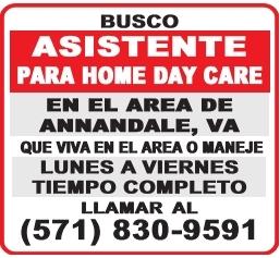 Asistente para Home Day Care