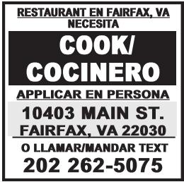 Cook/Cocinero