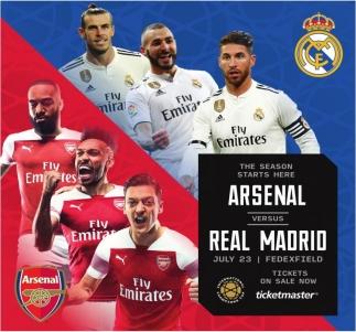 Arsenal versus Real Madrid