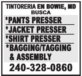 Tintoreria en Bowie