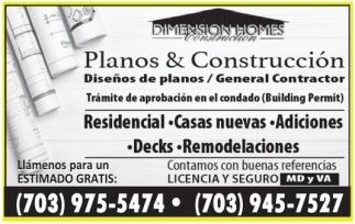 Planos & Construcción