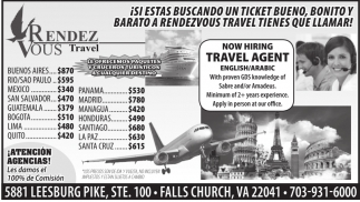 Now Hiring Travel Agent