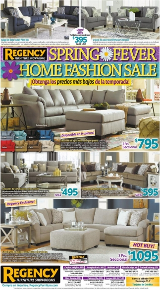 Spring Fever Home Fashion Sale
