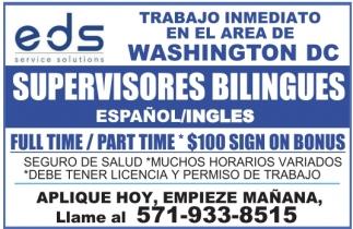 Supervisores Bilingues