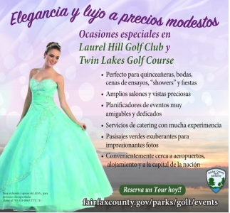 Ocasiones Especiales en Laurel Hill Golf Club y Twin Lakes Golf Club