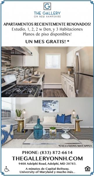 Apartamentos Recientemente Renovados