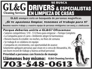 Drivers & Especialistas