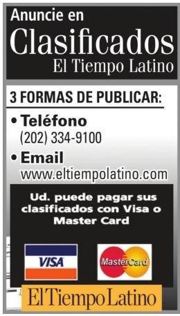 Anuncieen Clasificados El Tiempo Latino