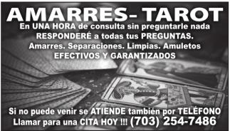 Amarres - Tarot