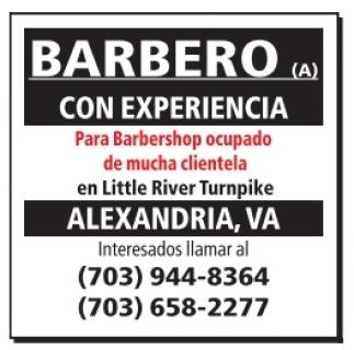 Barbero con Experiencia