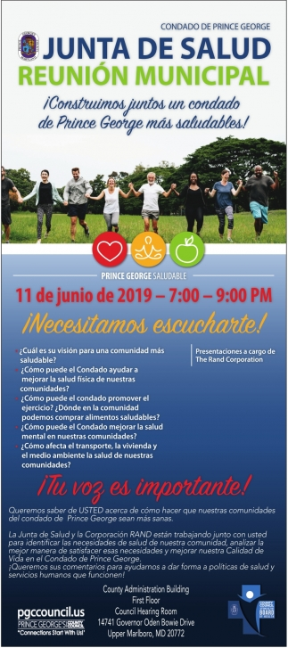 Junta de Salud Reunion Municipal