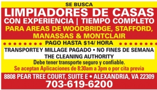 Limpiadores de Casas