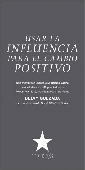 Usar la Influencia para El Cambio Positivo