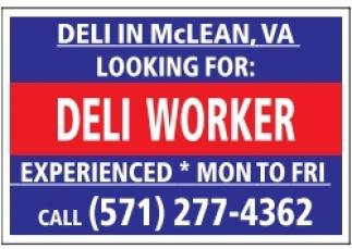 Deli Worker