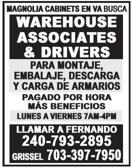 Warehouse Associates & Drivers