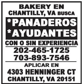 Panaderos / Ayudantes