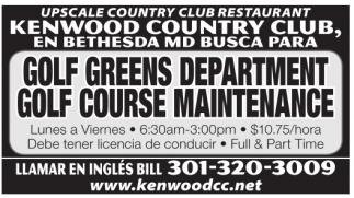 Golf Greens Department