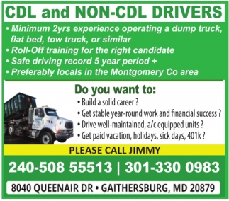 CDL and NON-CDL Drivers