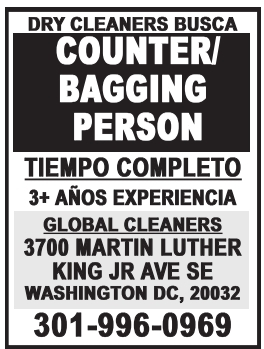 Counter Bagging Person