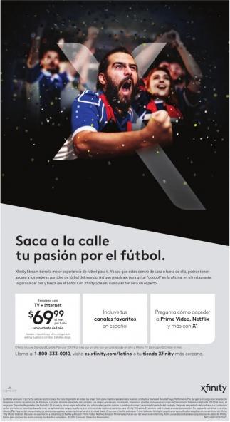 Saca a la Calle tu Pasión por el Futbol