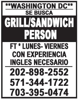 Grill/Sandwich Person